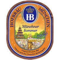 Hofbrau Summer beer Label Full Size