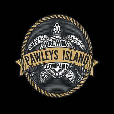 Pawleys Island Gray Man Stout beer Label Full Size