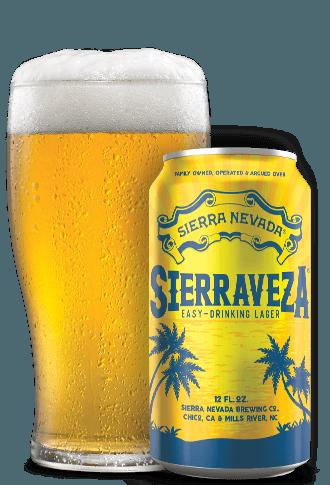 Sierra Nevada Sierraveza beer Label Full Size