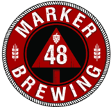 Marker 48 Red Right Return Irish Red beer