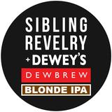 Sibling Revelry Dew Brew Blonde IPA beer