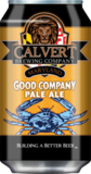 Calvert Brewing Company Good Company beer