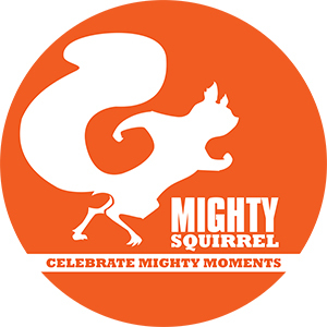 Mighty Squirrel Cloud Candy beer Label Full Size