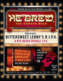 HeBrew Bittersweet Lenny's R.I.P.A. beer