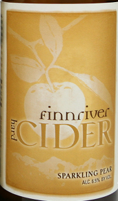 Finnriver Pear Cider beer Label Full Size