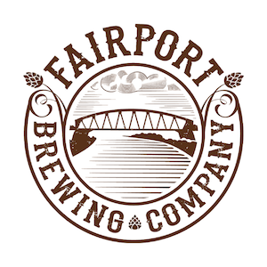 Fairport Trail Town Nut Brown beer Label Full Size