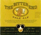 Two Brothers Bitter End Pale Ale Beer