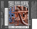 Three Heads Big Head Stout beer