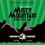 Back East Misty Mountain IPA beer