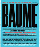Half Acre Bourbon-Barrel Aged Baume beer