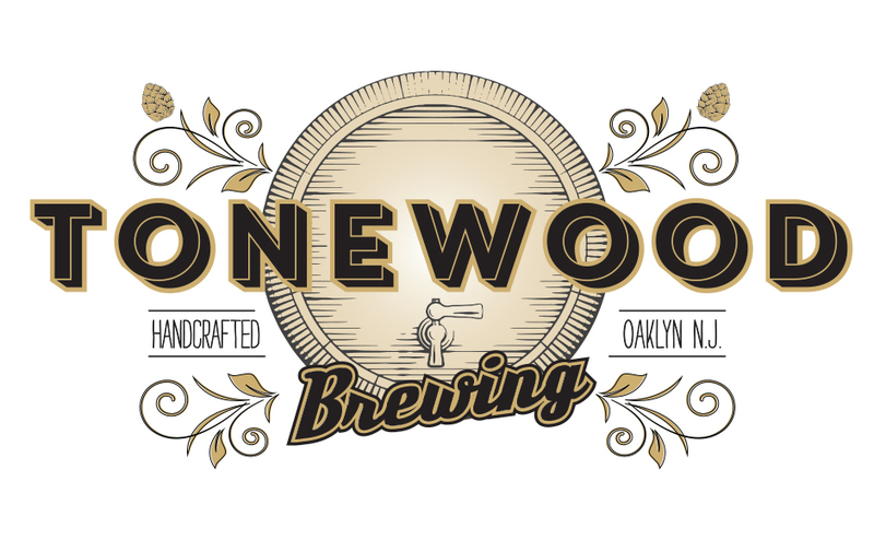 Tonewood Monotone Simcoe beer Label Full Size