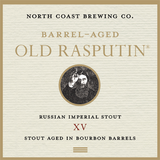 North Coast Barrel-Aged Old Rasputin XV beer