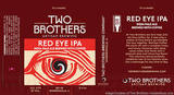 Two Brothers Red Eye IPA Beer