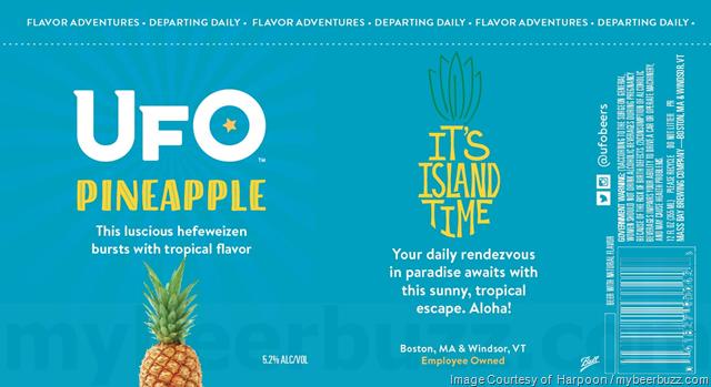 Harpoon UFO Pineapple Beer