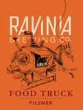 Ravinia Food Truck Pils beer