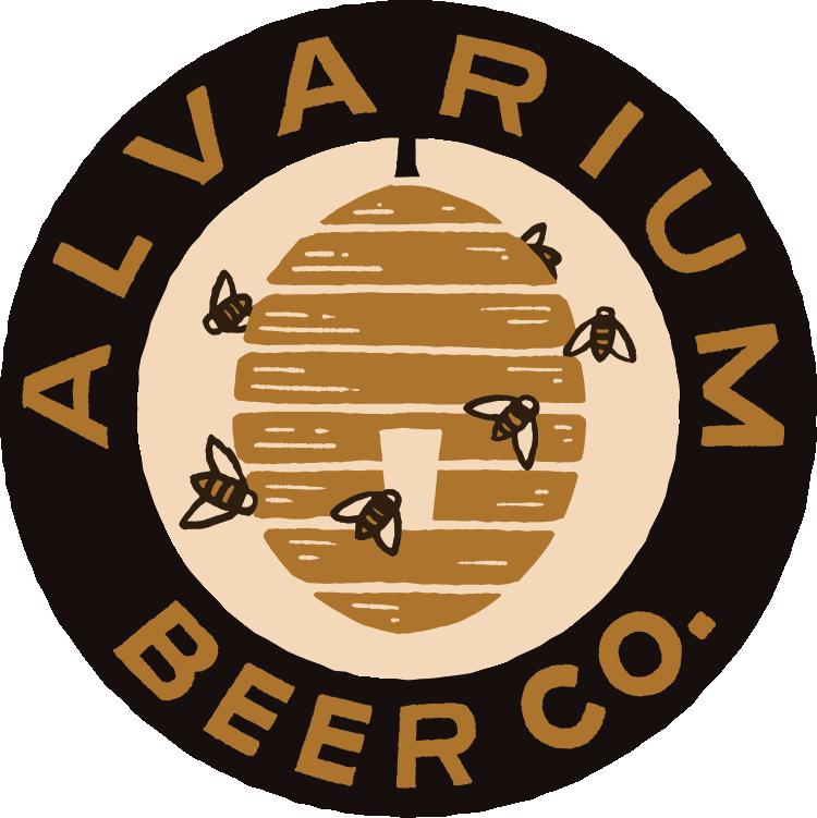 Alvarium Crunchy Roll beer Label Full Size