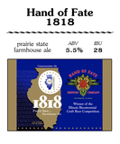 Hand Of Fate 1818 Beer