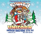 Pipeworks Santa Vs Unicorn beer