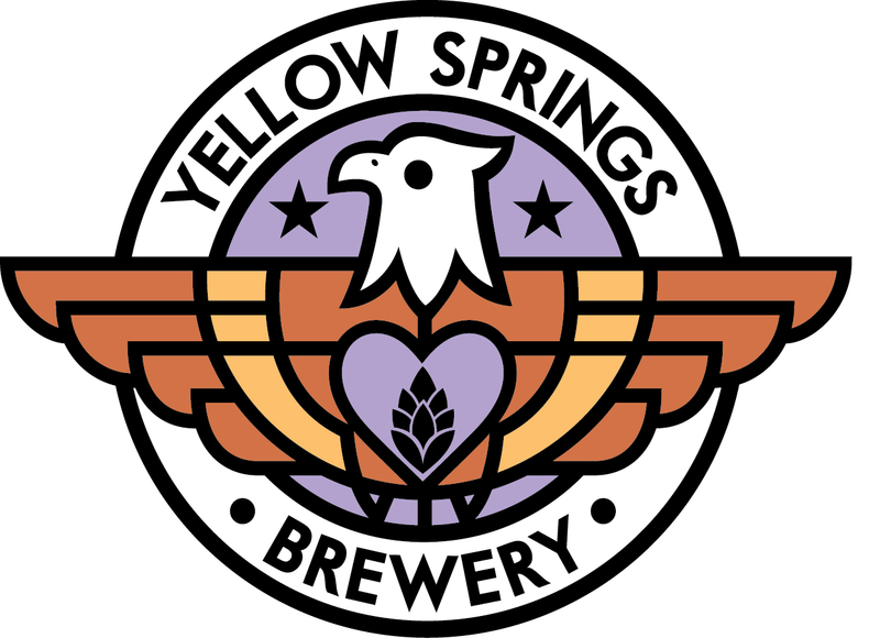 Yellow Springs Smokin' Handsome beer Label Full Size