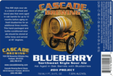 Cascade Blueberry Beer