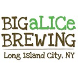 Big Alice Off the Cuff beer