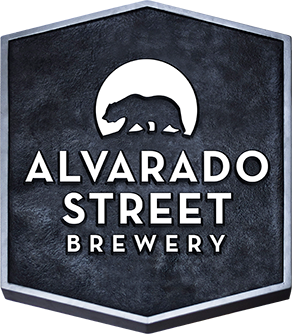Alvarado Street Blue 'N Gold beer Label Full Size