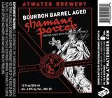 Atwater Bourbon Barrel Shaman's Porter beer