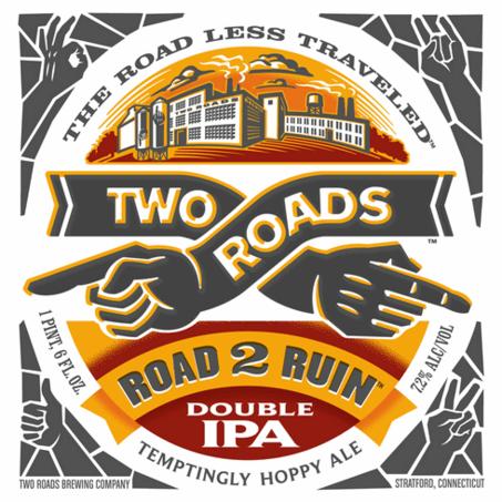 Two Roads Road 2 Ruin Beer