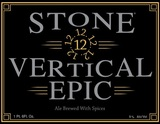 Stone Vertical Epic Ale beer