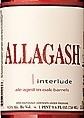 Allagash Interlude 2012 beer Label Full Size