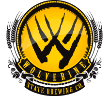 Wolverine State Kurios Black beer Label Full Size