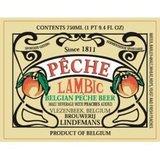 Lindemans Peche Lambic beer