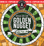 Toppling Goliath Golden Nugget Mosaic Dry Hop Beer
