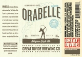 Great Divide Orabelle Beer