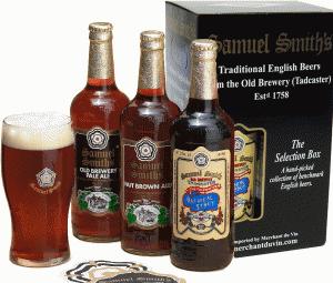 Samuel Smith's Gift Pack beer Label Full Size