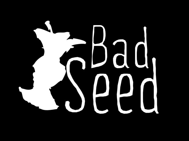 Bad Seed Cognac Aged Cider beer Label Full Size