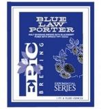 Epic Blue Law beer