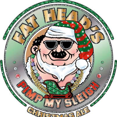 Fat Heads Pimp My Sleigh beer Label Full Size
