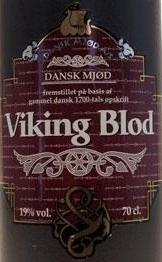 Dansk Mjød Viking Blod beer Label Full Size