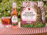 Angry Orchard Hard Cider Rose' Beer