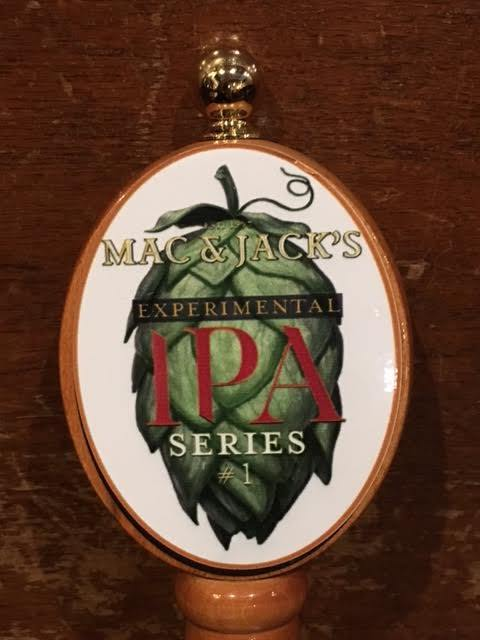 Mac and Jack's Experimental IPA beer Label Full Size