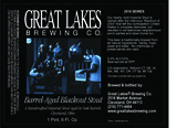 Great Lakes Barrel-Aged Blackout Stout beer