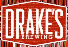 Drake's Black Label Drakonic beer Label Full Size