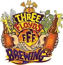 Three Floyds Murda'd Out Stout beer Label Full Size