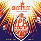 Short Fuse IPA Bomb w/Galaxy beer