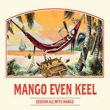 Ballast Point Mango Even Keel beer Label Full Size