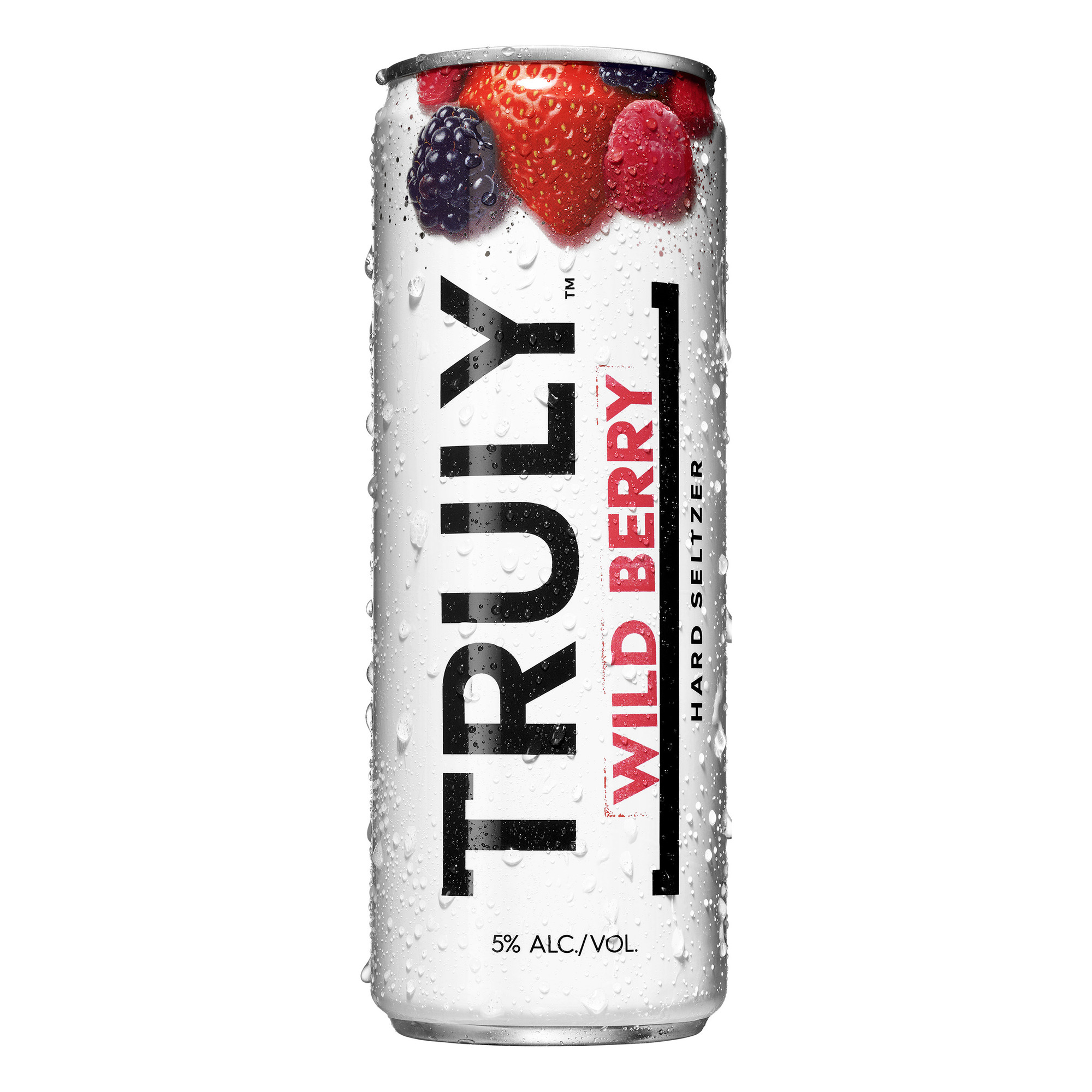Truly Wild Berry beer Label Full Size