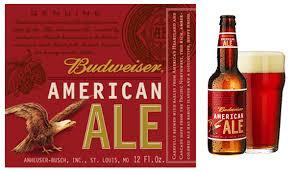 Budweiser American Ale beer Label Full Size