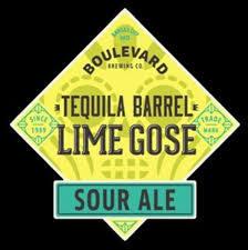 Boulevard Tequila Barrel Lime Gose beer Label Full Size