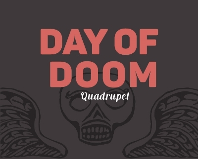 Mystic Day of Doom beer Label Full Size